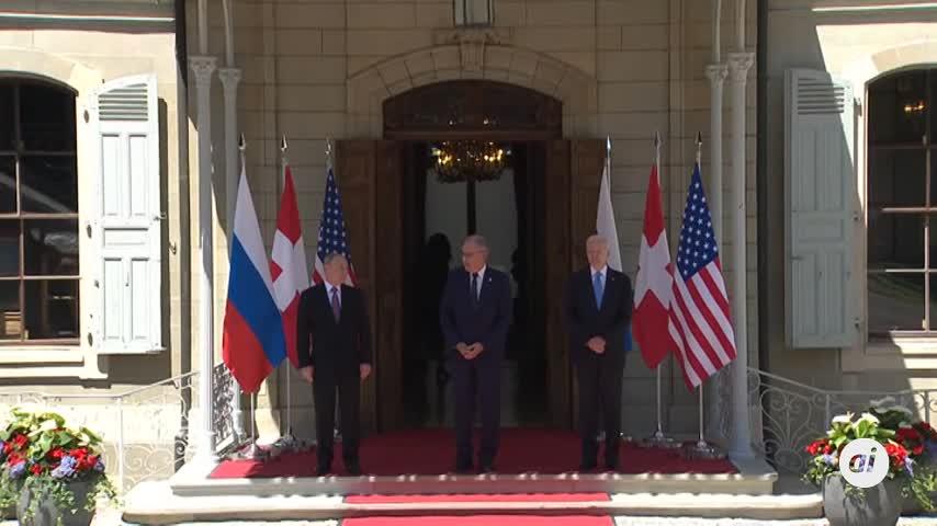 La primera reunión entre Putin y Biden duró casi dos horas, según el Kremlin