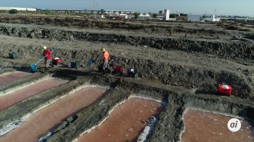 Salina San Vicente en San Fernando desarrolla un proyecto financiado por la Unión Europea