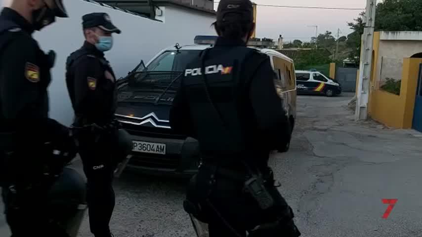 Quince detenidos en un operativo contra el tráfico de hachís en la provincia de Cádiz