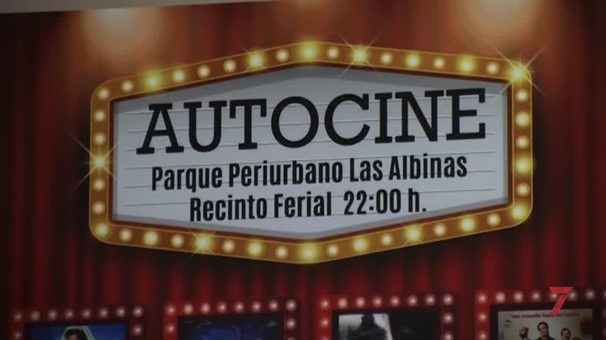El autocine de Chiclana regresa el 9 de julio al parque periurbano de Las Albinas