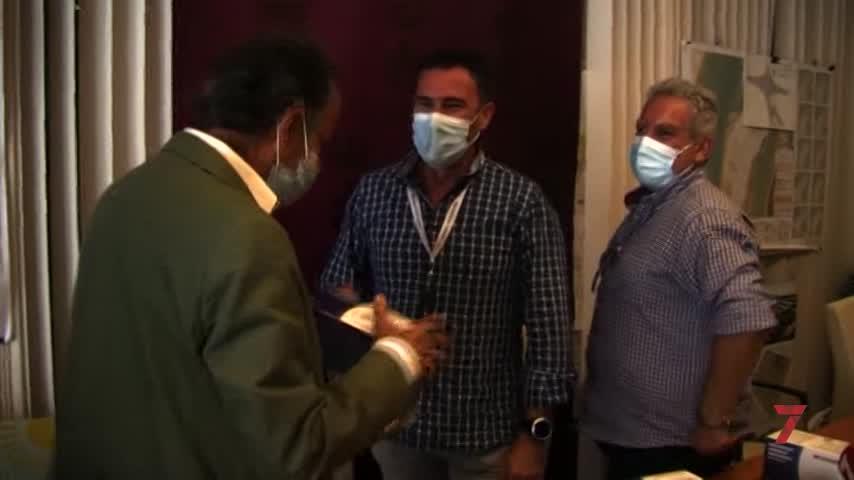 Tecnocorte dona 3.000 mascarillas Tecnomask para familias con menos recursos de Chiclana