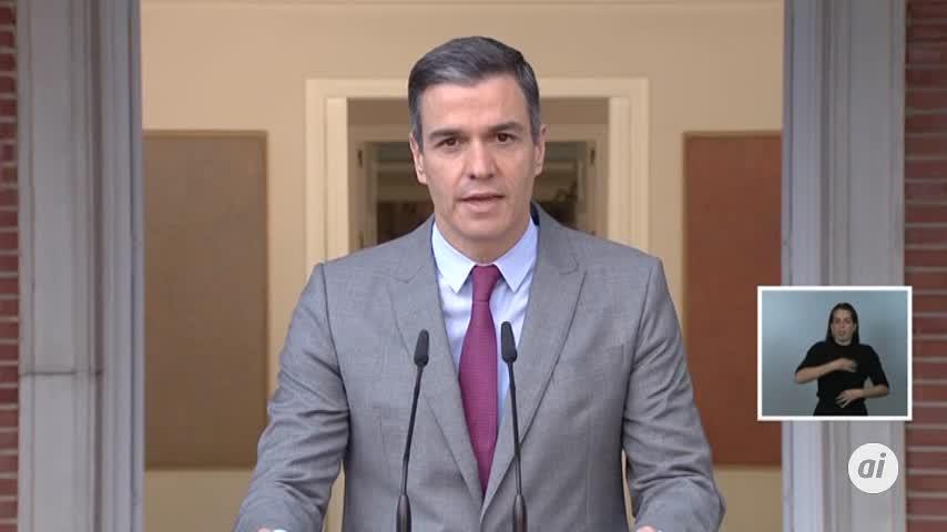 Pedro Sánchez dice que la democracia demuestra su grandeza con los indultos