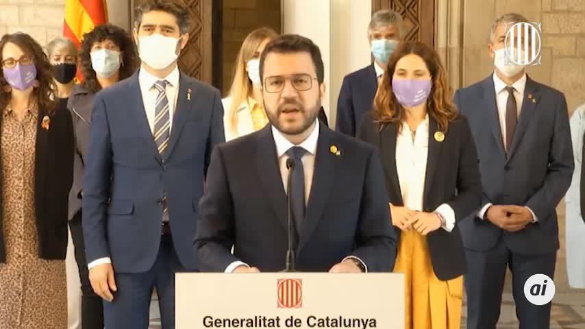 Aragonès dice que tras los indultos
