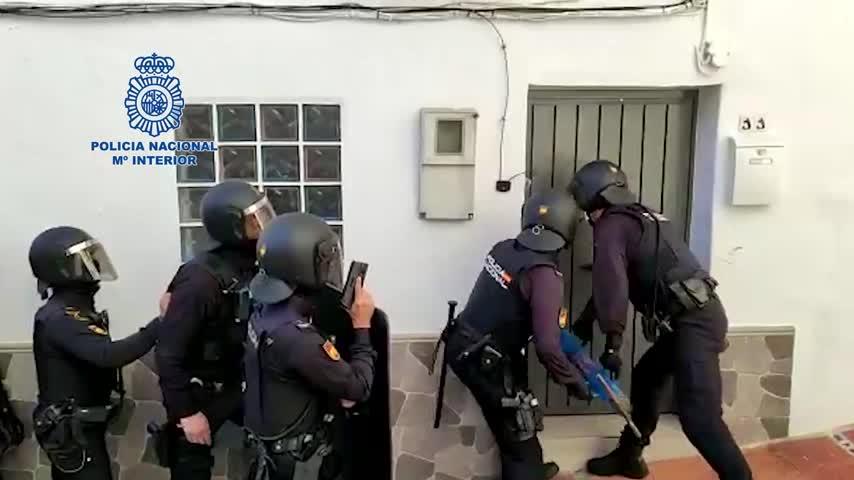 Desmantelada en Málaga una red de tráfico de hachís y marihuana