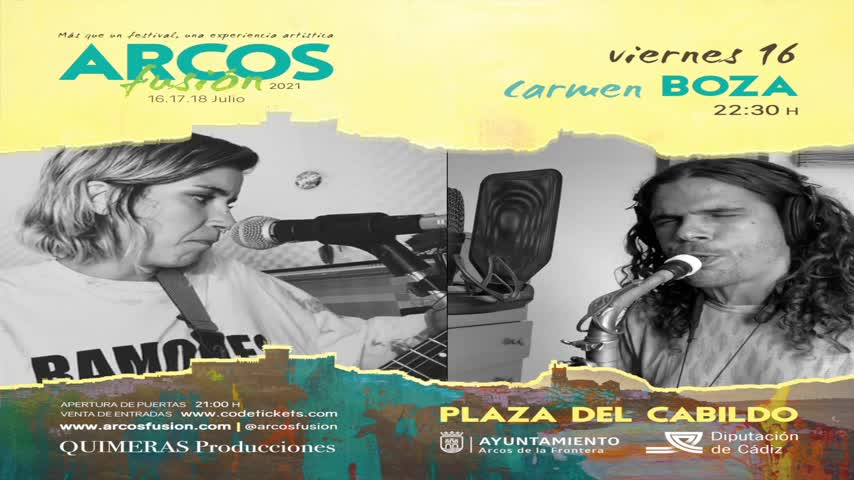 Carmen Boza y Antonio Lizana juntos en Arcos de la Frontera