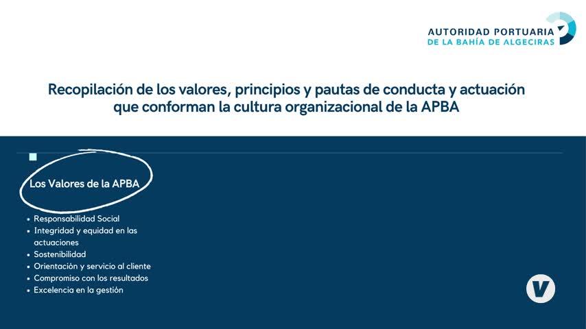 La Autoridad Portuaria de la Bahía de Algeciras establece su primer Código Ético
