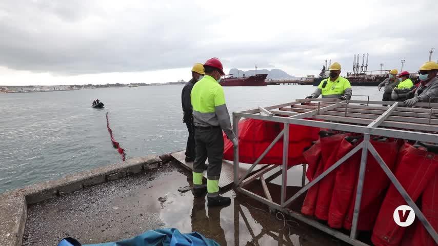 Cepsa implanta en San Roque el sistema SICMA frente a la contaminación marítima