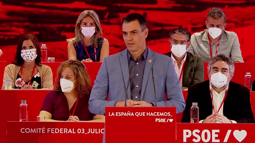 Pedro Sánchez dice que los indultos ya empiezan a tener sus efectos