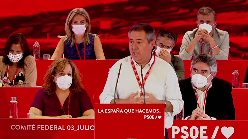 Juan Espadas dice que recuperará la Junta haciendo lo contrario que Pablo Casado
