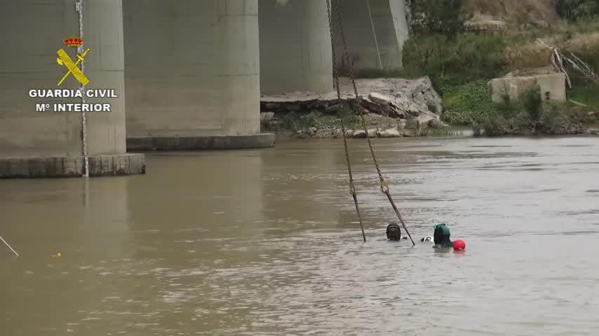 Confirman que el coche encontrado en el Ebro es el usado en el atropello mortal de Luceni