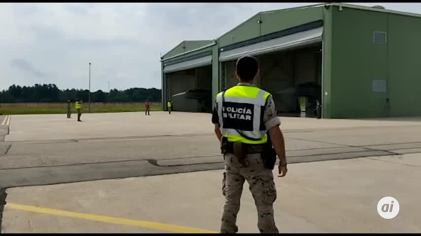 Una alerta real interrumpe la visita de Sánchez a la base de la OTAN en Lituania