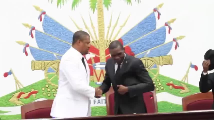 El Senado nombra un presidente provisional de Haití en desafío a Claude Joseph