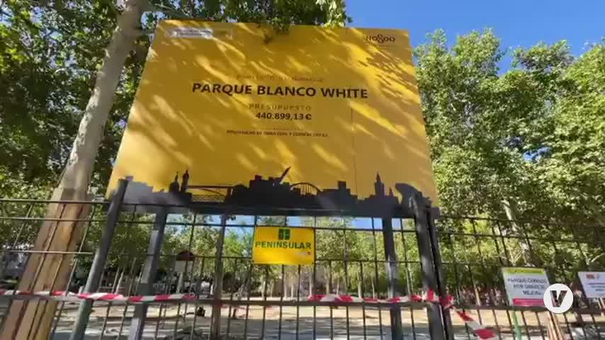 Inician la transformación y mejora integral del Parque Blanco White de Nervión (Sevilla)
