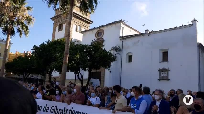 Algeciras clama contra el narcotráfico con el recuerdo presente de José Luis Domínguez