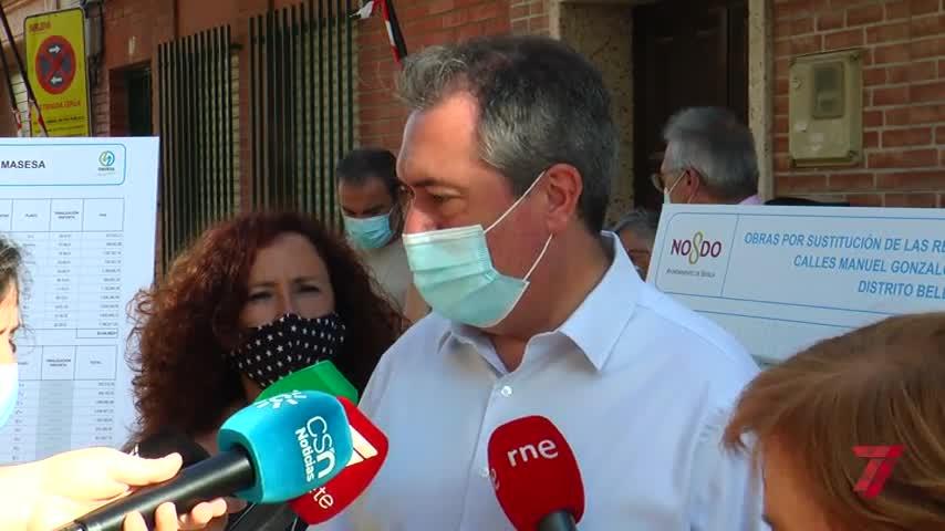 Espadas pide más fondos a la Junta para contener la pandemia