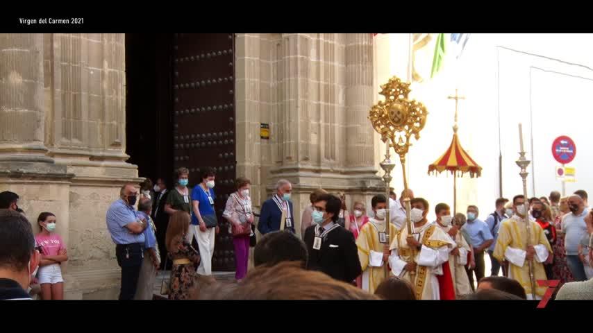 La Reina del Carmelo devuelve la devoción a las calles de Jerez