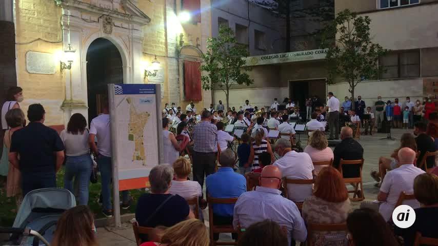 La Banda Agripino Lozano pone el broche a la jornada grande del Centenario del Patronazgo