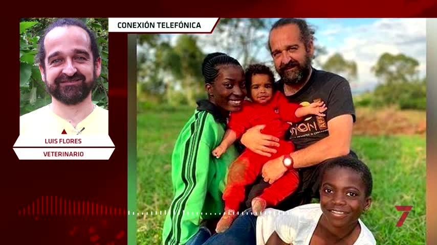 La cruzada del veterinario Luis Flores para lograr un visado para Ester