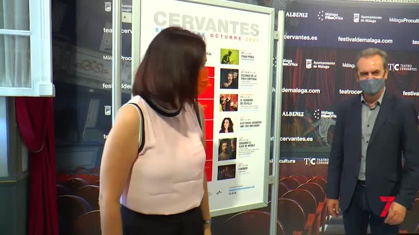 Víctor Manuel, Darín y Seguridad Social, entre los que estarán en el Cervantes de Málaga