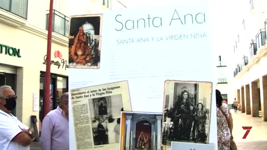 Inaugurada la exposición 'Santa Ana. Memoria de un pueblo en romería' en Las Bodegas