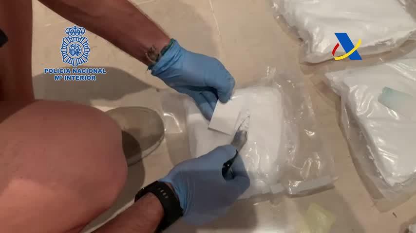 Intervenida una tonelada de cocaína en un moderno velero abordado en medio del Atlántico