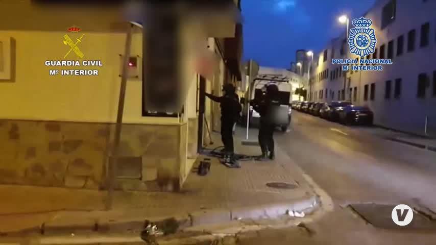 Cuarto K.O. a la red del Messi del Hachís: 77 detenidos y 8 toneladas intervenidas