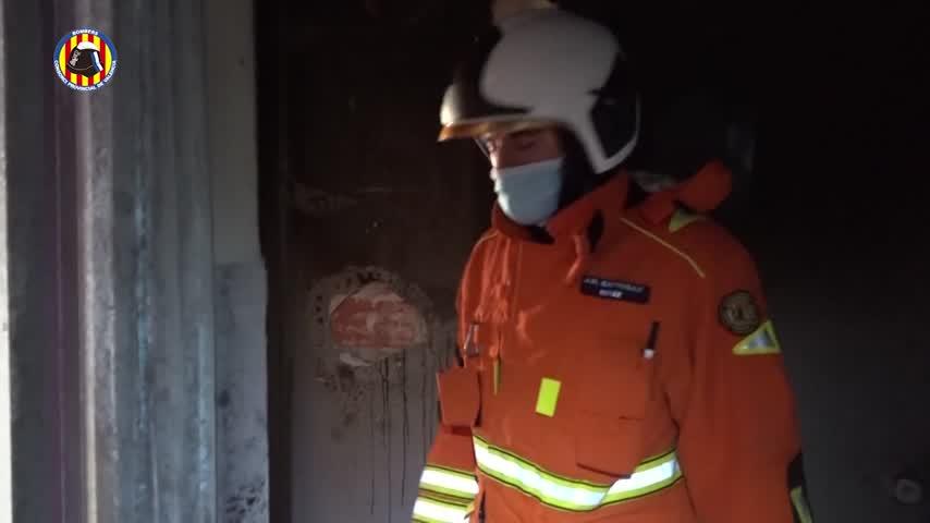 Muere un menor en el incendio de una vivienda en Alberic (Valencia)