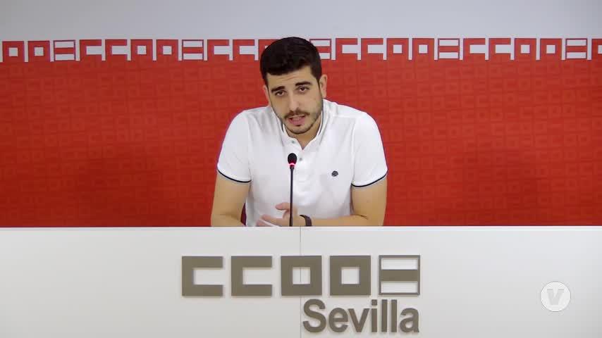 CCOO y UGT Sevilla avisan que la tasa de paro es aún
