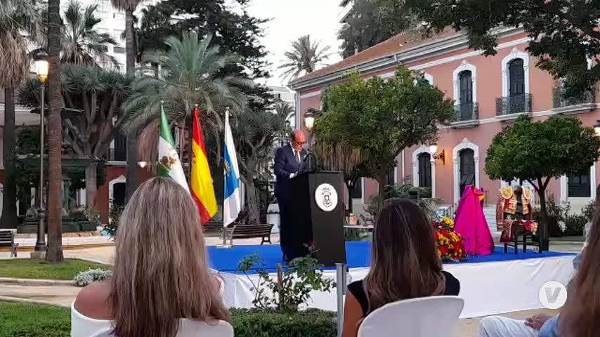 Lírica, poesía y sentimiento en el pregón taurino de García-Rayo en Huelva