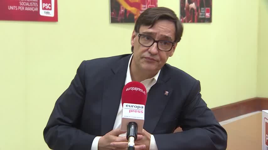 Salvador Illa (PSC) exige a Aragonès acudir a las cumbres de presidentes