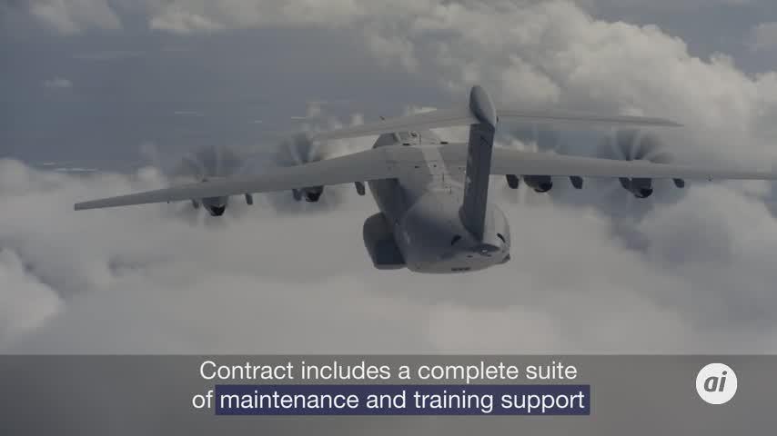 Airbus hace historia al vender dos A400M a Kazajistán