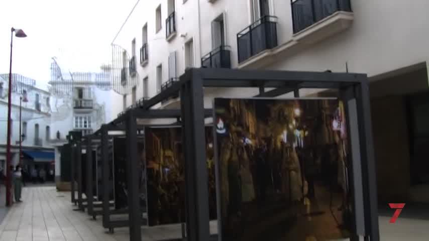 Una exposición fotográfica en honor a la Patrona de Chiclana en la Plaza de las Bodegas