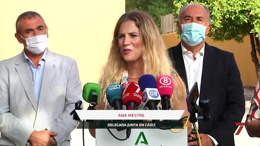 La Junta anuncia obras de reparación del muro del colegio de La Bajadilla de Algeciras