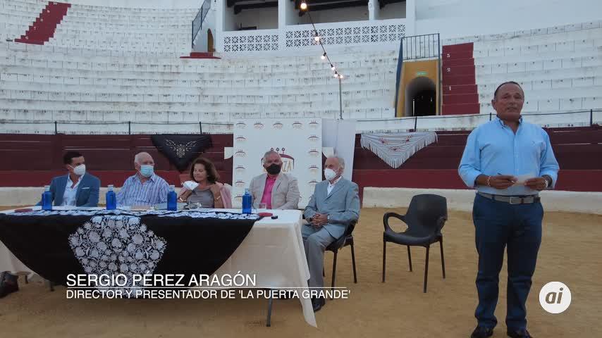 Cartel de toreros artistas en la plaza de toros de La Isla en homenaje a Rafael Ortega