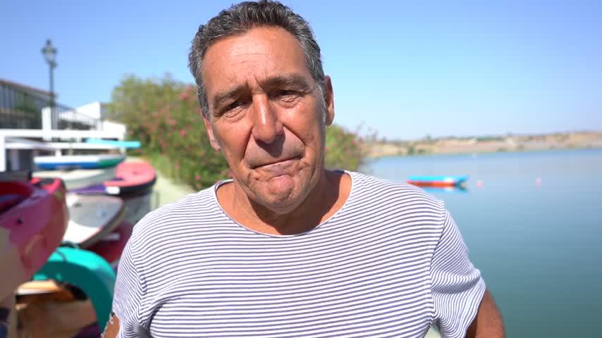 El director técnico del CD Piragüismo Arcos, José María Mateos, también nadó los 3000 m