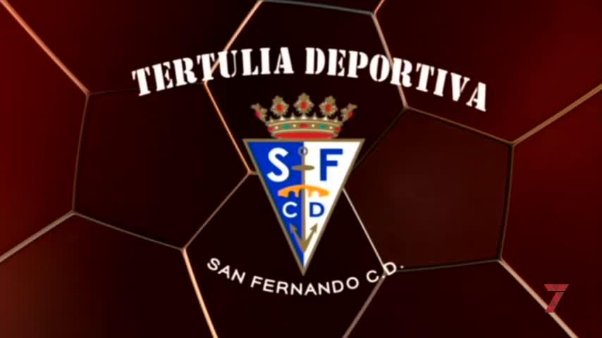 Nacho Castro analizó en la Tertulia Azulina el empate del San Fernando con el Linares