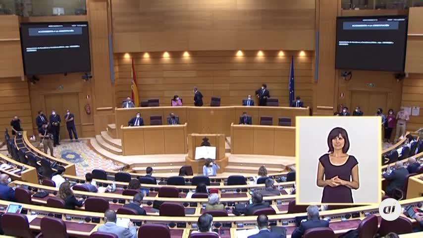Susana Díaz toma posesión como senadora en representación de Andalucía