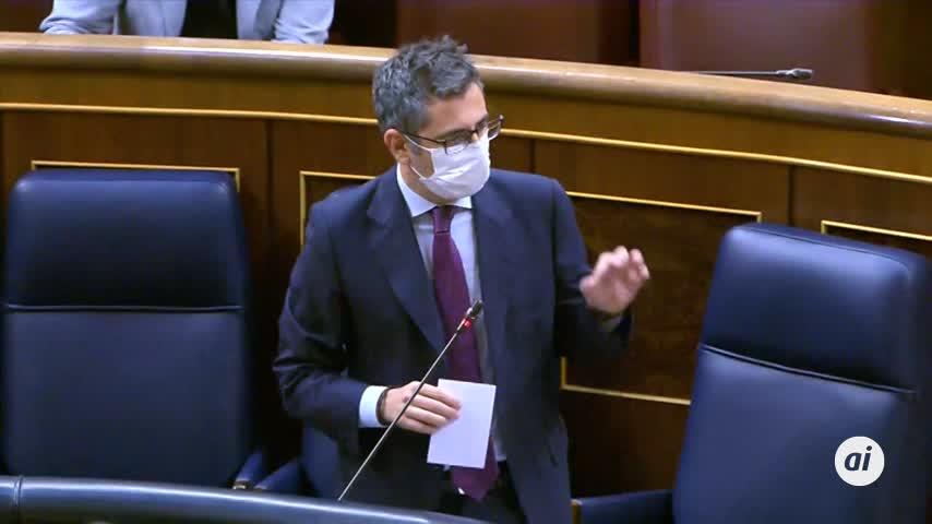 Bolaños critica que Cs rechace negociar PGE y le pide volver al centro útil