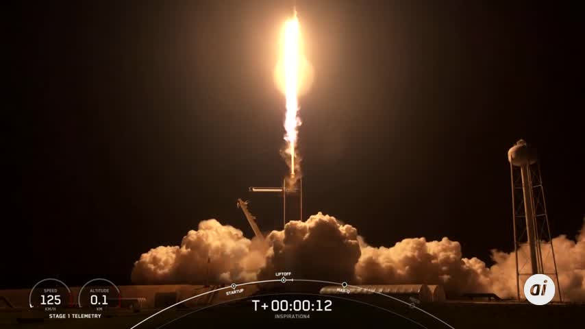 SpaceX abrió las puertas del espacio a los civiles con un histórico lanzamiento