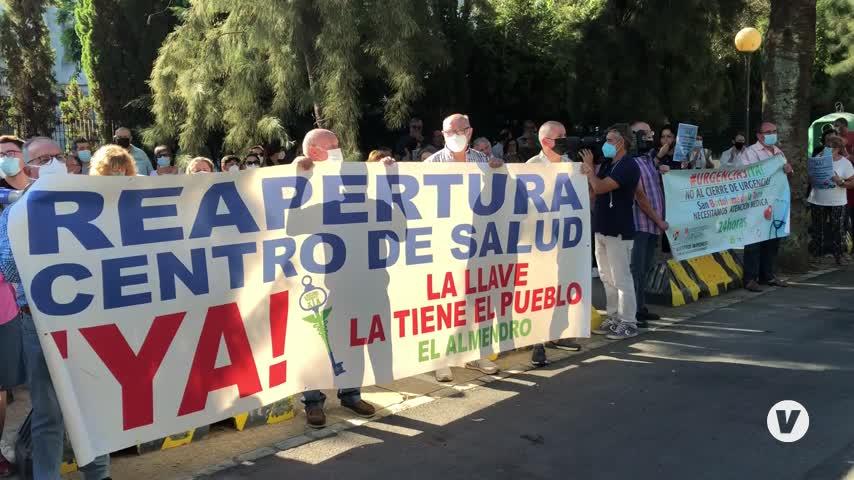 """La Huelva rural se pone en pie de guerra por una sanidad sin """"recortes"""""""