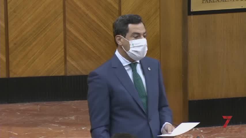 """Juanma Moreno: """"Queremos Presupuesto y no adelantar las elecciones"""""""
