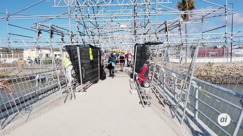 Las obras de mejora en el Puerto de Gallineras finalizarán a principios de 2022