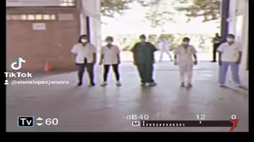 El original vídeo con el que los sanitarios de Jerez dicen adiós a Ifeca