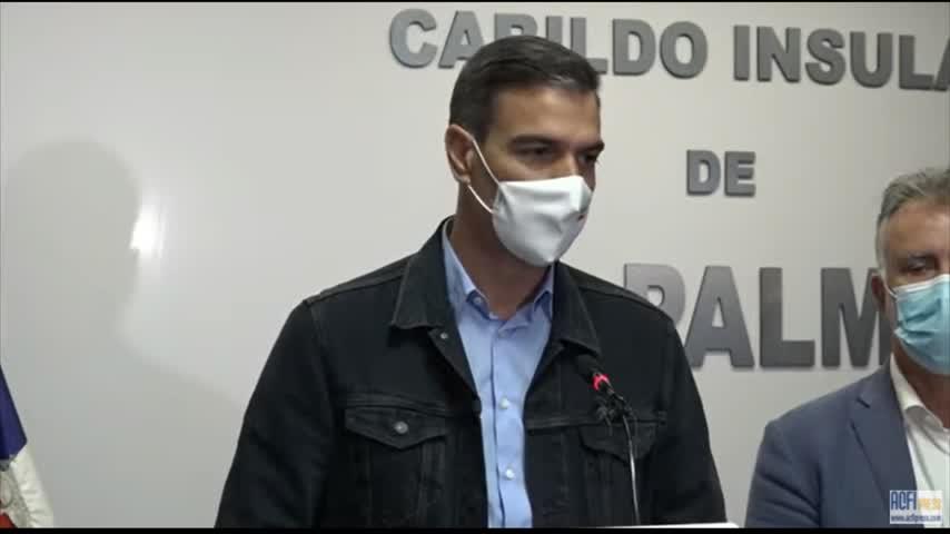 Pedro Sánchez, en Canarias: