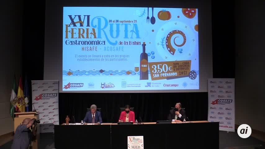 Salud y gloria a la tapa en la XVI edición de la Feria Ruta gastronómica de la Bahía