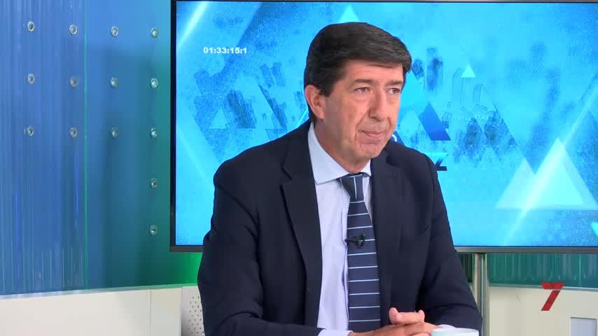 """Juan Marín: """"El resultado de Cs enAndalucía será clave para el futuro del partido"""""""