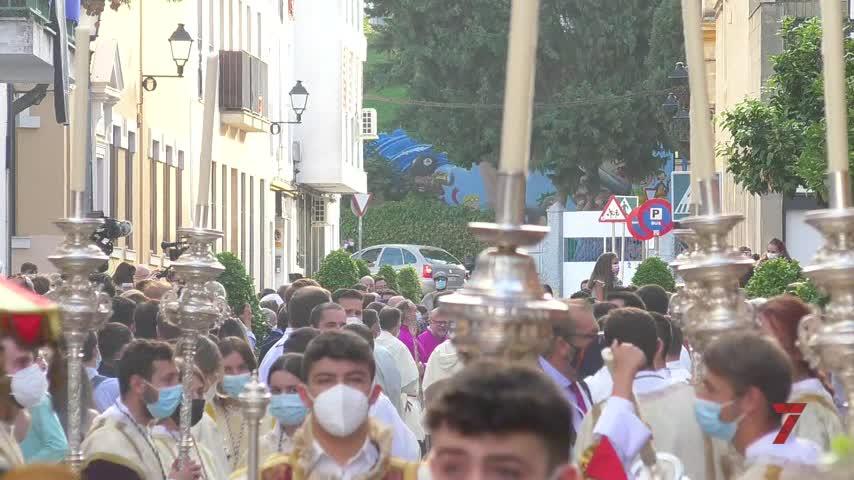La Merced renueva dos años después su patronazgo en las calles de Jerez