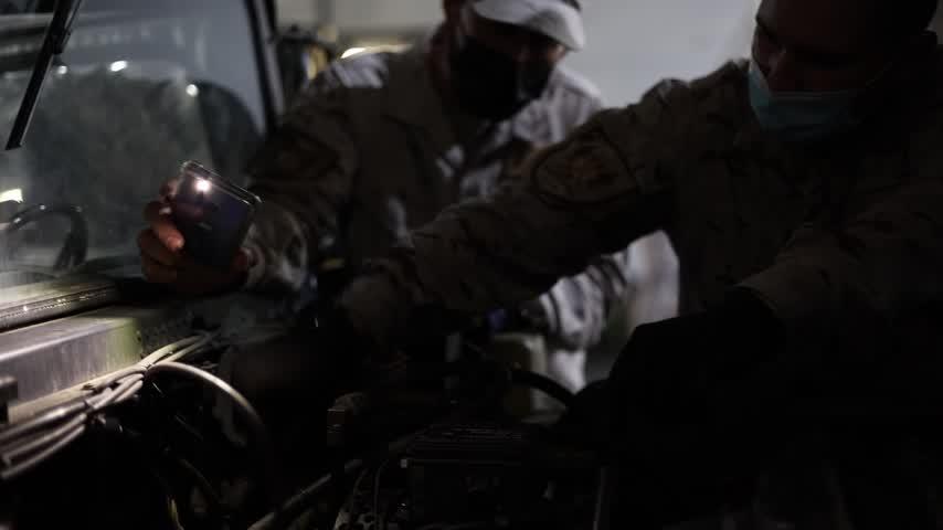 Las Fuerzas Armadas prosiguen su preparación habitual con el ejercicio Adelfibex-21-02