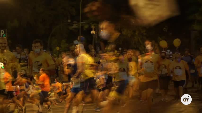 Unos 10.000 corredores participan en la Nocturna del Guadalquivir