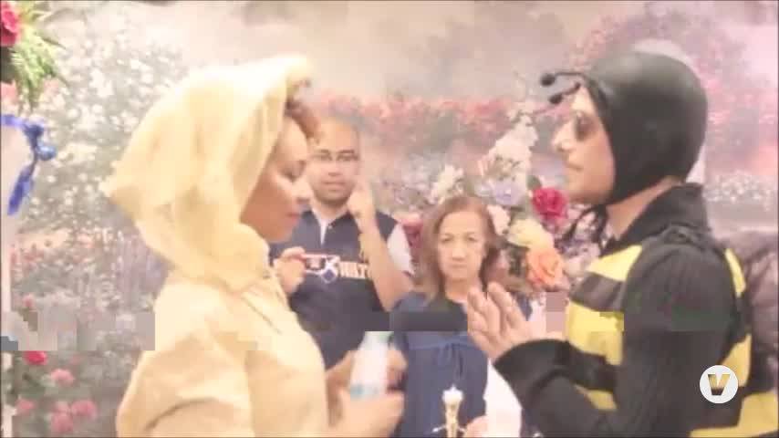Las imágenes de la divertida boda del algecireño Víctor Clavijo triunfan en las redes